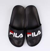 FILA系列 中性款黑色 運動涼拖鞋-NO.4S313T021