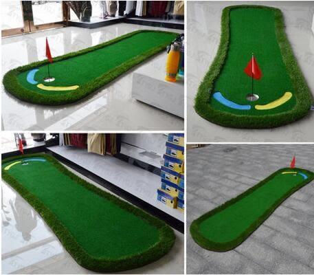 室內高爾夫果嶺推桿練習毯Golf球道【藍星居家】