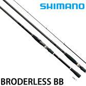 漁拓釣具 SHIMANO BORDERLESS BB 495M-T (磯釣竿)