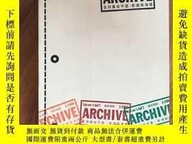 二手書博民逛書店2006廣告檔案罕見年鑑 ARCHIVE 全球最佳平面 影視與海
