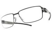 Ic! Berlin光學眼鏡 T19-16-4 SLATE (霧槍) 紳士簡約框 薄鋼眼鏡 # 金橘眼鏡