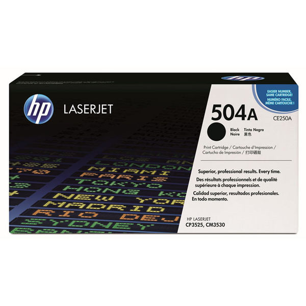 CE250A HP原廠黑色碳粉匣 適用 CP3520/CP3525/CM3530MFP