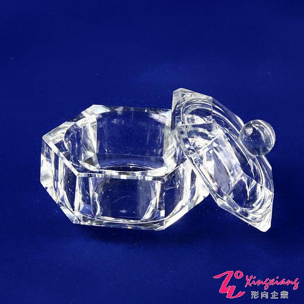 【More Colors】有蓋 水晶杯 美甲溶劑 器皿 溶劑杯 B10-1