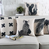 時尚簡約北歐抱枕 靠墊 沙發裝飾靠枕20 (二入)