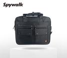 SPYWALK 大口袋設計多夾層公事包 ...