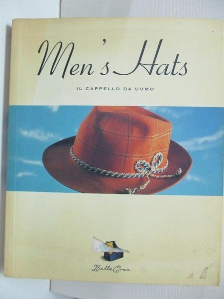 【書寶二手書T5/設計_B4G】Bella Cosa: Men s Hats