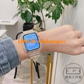 適用蘋果applewatch手表帶iwatch6/SE/5/4/3代透明