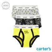 【美國 carter s】 宇宙太空3件組三角褲-台灣總代理