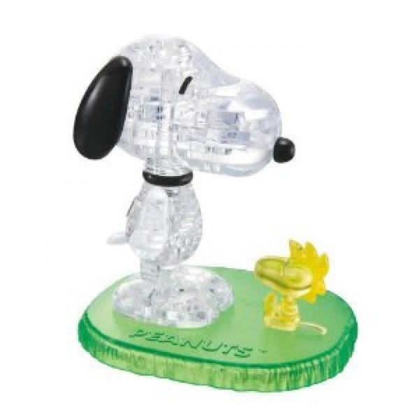 【拼圖總動員 PUZZLE STORY】Snoopy 日系/Beverly/史努比/41P/立體透明塑膠