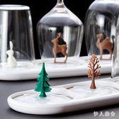 創意塑料晾杯架瀝水杯架家用可愛卡通晾杯子架子杯具收納架 ys5077『伊人雅舍』