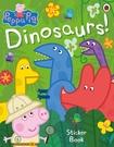 Peppa Pig:Dinosaurs! Sticker Book 佩佩豬恐龍貼紙書