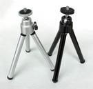 攝彩@桌上型 鋁合金小腳架 黑/銀兩色 數位相機 微單眼 適用 另可搭配手機夾 自拍架 1/4標準螺絲