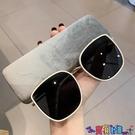 太陽眼鏡 GM太陽鏡大臉顯瘦網紅復古韓版眼鏡圓臉潮墨鏡女2021新款寶貝計畫 上新