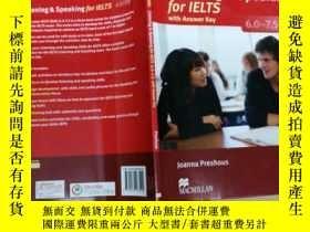 二手書博民逛書店Listening罕見and Speaking for IELTS 6-7.5 with Answer Key(雅