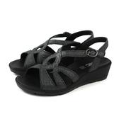 IMAC 涼鞋 義大利製 黑色 女鞋 厚底 30758016090011 no826