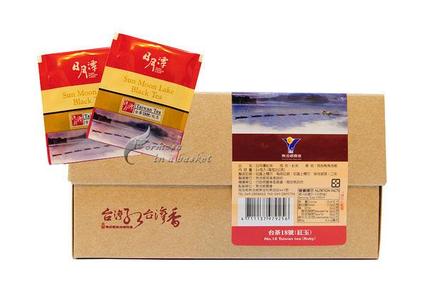 免運(超商取貨)~六盒~日月潭~紅玉台茶18號~紅茶茶包--南投縣魚池鄉農會