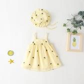 嬰兒吊帶裙夏季衣服小女童洋裝寶寶裙子夏裝洋氣兒童公主裙包屁11
