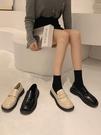 小皮鞋 小皮鞋女英倫風百搭2021年新款單鞋黑色2021復古早春職業工作鞋子 非凡小鋪