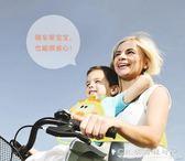 兒童摩托車防摔帶寶寶安全防掉帶電動車固定帶綁帶透氣背帶 水晶鞋坊