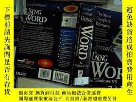 二手書博民逛書店Special罕見Edition USING WORD for Windows95使用word for windo