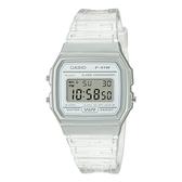 CASIO 手錶專賣店卡西歐 F-91WS-7 果凍材質系列 電子錶 小巧簡約錶面 樹脂錶帶 防水 LED照明