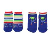 【愛的世界】機器人止滑透氣短襪(2入)/9~19CM-台灣製- ---童鞋童襪
