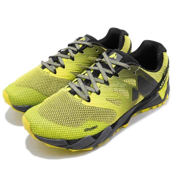 Merrell 戶外鞋 Agility Peak Flex 2 GTX 黃 黑 Gore-Tex 防水 越野 登山 休閒鞋 運動鞋 男鞋【PUMP306】 ML98253