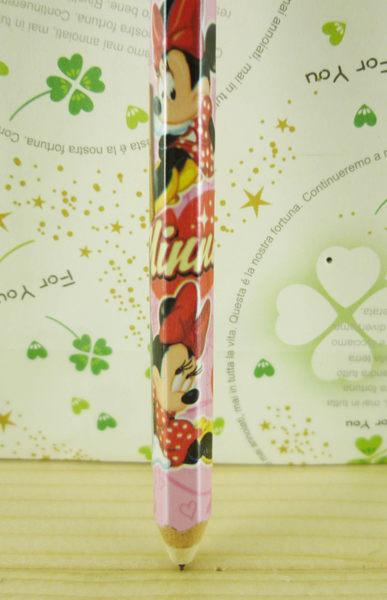 【震撼精品百貨】Micky Mouse_米奇/米妮 ~自動筆-粉