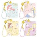 迪士尼 公主 票卡包 小美人魚 愛麗絲 樂佩 貝兒 Disney 日本正版 該該貝比日本精品 ☆