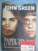 【書寶二手書T6/原文小說_LGB】Paper Towns_GREEN JOHN