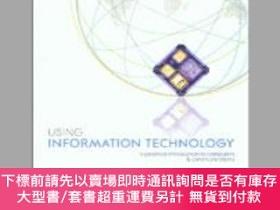 二手書博民逛書店Using罕見Information Technology: A Practical Introduction t