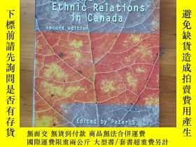 二手書博民逛書店Race罕見and Ethnic Relations in Canada《加拿大的種族與族群關系》Y19700