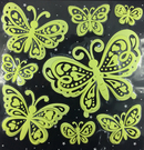 【收藏天地】螢光壁貼系列-蝴蝶飛舞/  家飾 生活 居家 裝飾 掛飾 環保 卡通 可愛