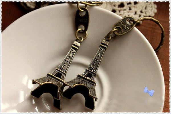 幸福朵朵*復古巴黎鐵塔鑰匙圈(艾菲爾鐵塔鑰匙圈).擺飾.開幕禮.來店禮.日韓zakka雜貨婚禮小物