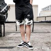 男士工裝短褲韓版潮流沙灘褲大褲衩薄休閒七分寬鬆五分馬褲子 三角衣櫃
