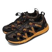 Merrell 戶外鞋 Hydro Choprock Shandal 黑 橘 大童鞋 女鞋 水鞋 戶外鞋款 【ACS】 MK261227