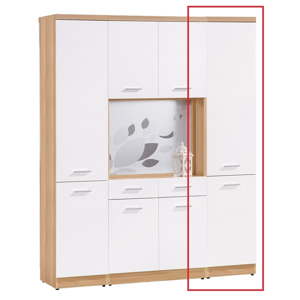 OB004-克萊兒北歐1.3尺玄關木門雙面鞋櫃(19HY2/B375-02)【DD House】