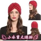毛帽 歐美印度頭巾民族帽男女32色光身褶皺瑜伽套頭帽 - 小衣里大購物
