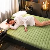 床墊 北極絨乳膠床墊軟墊子加厚1.5米單人宿舍床墊子1.8米雙人家用睡墊【快速出貨】