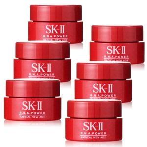 SKII SK2 SK-II R.N.A. 超肌能緊緻活膚霜15g =2.5gx6個【全新百貨公司專櫃正貨】☆