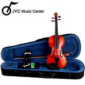 JYC Music入門嚴選JYC MV-012L 小提琴(4/4-1/8)加碼送琴盒/弓/松香/肩墊!限量