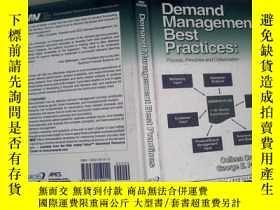 二手書博民逛書店Demand罕見Management Best Practice