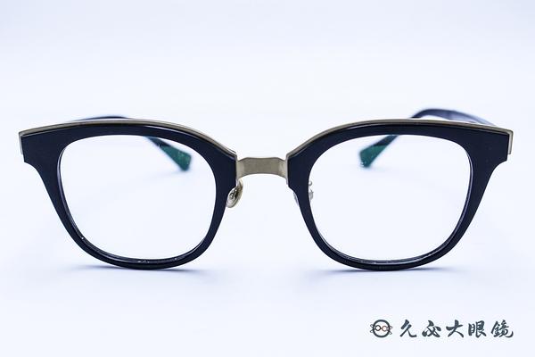 Kaffeine 咖啡因 Arabica C1 (黑) 韓國設計 經典框型 近視眼鏡