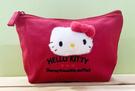 【震撼精品百貨】Hello Kitty 凱蒂貓~Hello Kitty日本SANRIO三麗鷗KITTY化妝包/筆袋-小熊紅*97559