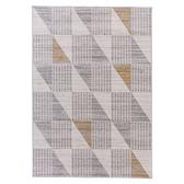 拉斐爾北歐風地毯160x230cm-菱形米