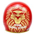 【東門城】EVO 智同 CA-310 精裝版 獅子王(紅) 半罩式安全帽