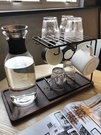 玻璃瀝水家用水杯掛架咖啡杯水杯架杯子架水杯收納杯架托盤置物架 樂活生活館
