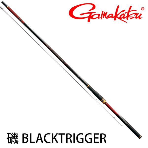 漁拓釣具 GAMAKATSU 磯 BLACK TRIGGER 0.6-5.3M [磯釣竿]