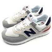 《7+1童鞋》男款 NEW BALANCE  ML574UJD  透氣  經典復古  親子鞋  運動鞋 9435  白色