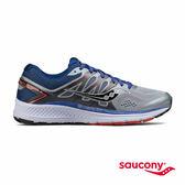 SAUCONY OMNI 16 寬楦專業訓練鞋-灰x藍x橘
